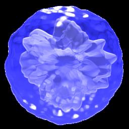 blue 256